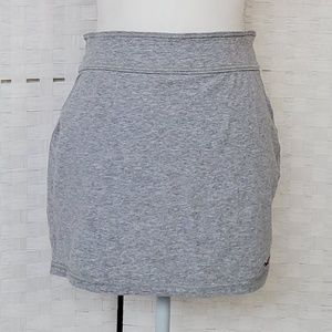 Hollister Gray Mini Skirt